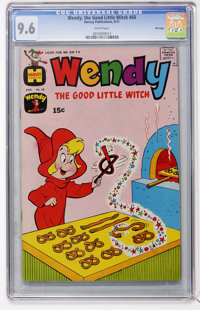 Wendy, the Good Little Witch #68 File Copy (Harvey, 1971) CGC NM+ 9.6 White pages