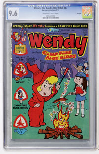 Wendy, the Good Little Witch #83 File Copy (Harvey, 1974) CGC NM+ 9.6 Off-white to white pages
