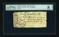 Colonial Notes:North Carolina, North Carolina April 4, 1748 40s PMG Very Good Net 8....