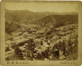 "Photography:Ambrotypes, Imperial Size Birdseye View Photograph of ""Deadwood, South Dakota""1890s. ..."