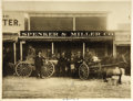 "Western Expansion:Goldrush, Three Imperial Size Photographs ""Goldfield, Nevada"" Spencer &Miller Co., ca. Early 1900s.... (Total: 3 Items)"