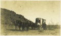 Photography:Cabinet Photos, Cabinet Card Photograph Stagecoach or Mud-Wagon ca 1890s-1900s. ...