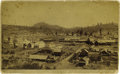 Photography:Cabinet Photos, Cabinet Card Photograph Birdseye View Truckee, California, ca.1880s-1890s....