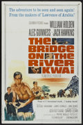 "Movie Posters:Academy Award Winner, The Bridge On The River Kwai (Columbia, R-1963). One Sheet (27"" X41""). Academy Award Winner...."