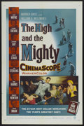 "Movie Posters:Adventure, The High and the Mighty (Warner Brothers, 1954). One Sheet (27"" X41""). Adventure...."