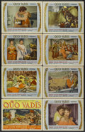 "Movie Posters:Historical Drama, Quo Vadis (MGM, 1951). Lobby Card Set of 8 (11"" X 14""). HistoricalDrama.... (Total: 8 Items)"