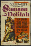 "Movie Posters:Adventure, Samson and Delilah (Paramount, 1949). One Sheet (27"" X 41"") StyleA. Adventure...."