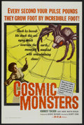 "Movie Posters:Science Fiction, Cosmic Monsters (DCA, 1958). One Sheet (27"" X 41""). ScienceFiction...."