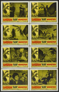 "Movie Posters:Science Fiction, Ghidrah, the Three-Headed Monster (Continental, 1964). Lobby CardSet of 8 (11"" X 14""). Science Fiction.... (Total: 8 Items)"