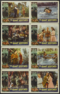 "The Giant Leeches (American International, 1959). Lobby Card Set of 8 (11"" X 14""). Horror.... (Total: 8 Items)"