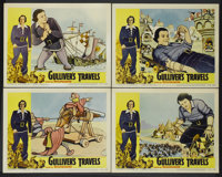 "Gulliver's Travels (NTA, R-1957). Lobby Card Set of 4 (11"" X 14""). Animated.... (Total: 4 Items)"
