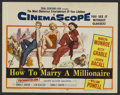 """Movie Posters:Comedy, How to Marry a Millionaire (20th Century Fox, 1953). Title LobbyCard (11"""" X 14""""). Comedy...."""