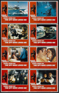 """Movie Posters:James Bond, The Spy Who Loved Me (United Artists, 1977). Lobby Card Set of 8(11"""" X 14""""). James Bond.... (Total: 8 Items)"""