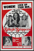 """Movie Posters:Adult, Swingin' Swappers (Hemisphere Pictures, 1973). One Sheet (27"""" X 41""""). Adult...."""