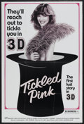 "Movie Posters:Sexploitation, Tickled Pink (Independent International Pictures, 1975). One Sheet(27"" X 41""). 3-D. Also known as A Man with a Maid. Se..."