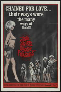 """Tight Skirts, Loose Pleasures (Times, 1966). One Sheet (27"""" X 41""""). Crime"""