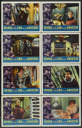 "Movie Posters:Science Fiction, Voyage to the End of the Universe (American International, 1964). Lobby Card Set of 8 (11"" X 14""). Science Fiction.... (Total: 8 Items)"