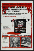 "Movie Posters:Horror, The Wizard of Gore (Mayflower, 1970). One Sheet (27"" X 41""). Horror...."