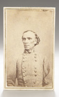 Photography:CDVs, Carte de Visite Likely of Kentucky Confederate Major General George B. Crittenden,...