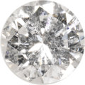 Estate Jewelry:Unmounted Diamonds, Unmounted Diamond. The unmounted round brilliant-cut diamondmeasures 6.33 - 6.37 x 3.89 mm and weighs 0.97 carat. An AGS ...