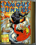 Golden Age (1938-1955):Miscellaneous, Famous Funnies #85-96 Bound Volume (Eastern Color, 1941-42)....