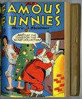 Golden Age (1938-1955):Miscellaneous, Famous Funnies #109-120 Bound Volume (Eastern Color, 1943-44)....