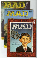 Magazines:Mad, Mad Group (EC, 1956-57) Condition: Average VG.... (Total: 4)