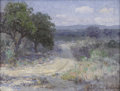 Paintings, JULIAN ONDERDONK (1882-1922). A Path Through The Texas Hill Country. Oil on canvas. 12in. x 16in.. Signed lower right. ...