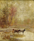 Fine Art - Painting, American:Antique  (Pre 1900), THOMAS CORWIN LINDSAY (American 1838-1907). Autumn. Oil on canvas. 22 x 18 inches (55.9 x 45.7 cm). Signed lower left: ...