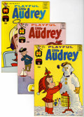 Silver Age (1956-1969):Humor, Playful Little Audrey File Copy Group (Harvey, 1963-74) Condition: Average NM-.... (Total: 45 Comic Books)