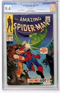 The Amazing Spider-Man #49 (Marvel, 1967) CGC NM 9.4 White pages