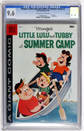 Silver Age (1956-1969):Humor, Dell Giant Comics Marge's Little Lulu & Tubby at Summer Camp #2 File Copy (Dell, 1958) CGC NM+ 9.6 Off-white to white pages....