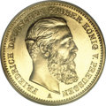 German States, German States: Prussia. Friedrich III gold 20 Mark 1888-A,...