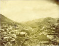 Western Expansion:Goldrush, Imperial Size Photograph of Mining Town Morenci, Arizona Territory,ca. 1890-1900....