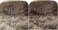 Photography:Stereo Cards, Stereoview Northwestern Arizona Red Mountain Extinct Volcano 1903 - ...