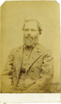 Photography:CDVs, Confederate Colonel Daniel R. Harris Carte de Visite,...