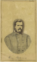 Photography:CDVs, Confederate Brigadier General Archibald Gracie, Jr. Carte de Visite,...