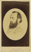 "Photography:CDVs, Confederate Lieutenant General Thomas J. ""Stonewall"" Jackson Carte de Visite,..."