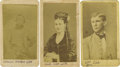 Photography:CDVs, Three Cartes de Visite Possibly Associated With Confederate Major General Bryan Grimes,... (Total: 3 Items)