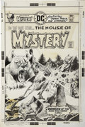Original Comic Art:Covers, Ricardo Villagran - The House of Mystery #241 Cover Original Art(DC, 1976)....