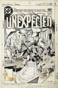 Original Comic Art:Covers, Rich Buckler and Dick Giordano - The Unexpected #210 Cover OriginalArt (DC, 1981)....