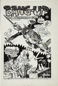 "Original Comic Art:Splash Pages, Doug Hansen - ""Big Bang/Bang-Up"" Splash Page Original Art Group(1977).... (Total: 2 Original Art)"