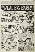 Original Comic Art:Panel Pages, Jack Kirby and Mike Royer - Mr. Miracle #15, page 16 Original Art(DC, 1973)....