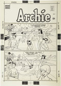 Original Comic Art:Covers, Dan DeCarlo - Pep Comics #197 Cover Original Art (Archie, 1966). . ...