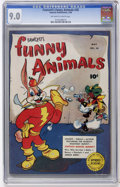 Golden Age (1938-1955):Funny Animal, Fawcett's Funny Animals #38 (Fawcett, 1946) CGC VF/NM 9.0 Off-whiteto white pages....