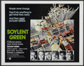 "Movie Posters:Science Fiction, Soylent Green (MGM, 1973). Half Sheet (22"" X 28""). ScienceFiction...."