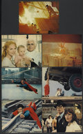 "Movie Posters:Action, Superman the Movie (Warner Brothers, 1978). Color Stills (7) (8"" X10""). Action.... (Total: 7 Items)"