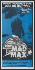 """Movie Posters:Science Fiction, Mad Max (Roadshow, 1980). Australian Daybill (13"""" X 30""""). ScienceFiction...."""