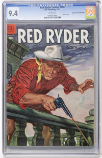 Red Ryder Comics #136 Mile High pedigree (Dell, 1954) CGC NM 9.4 White pages