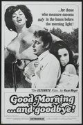 """Movie Posters:Adult, Good Morning...and Goodbye! (Eve Productions, 1967). One Sheet (27"""" X 41""""). Adult...."""